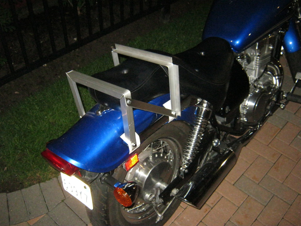 Diy Motorcycle Rack Grumble Grumble