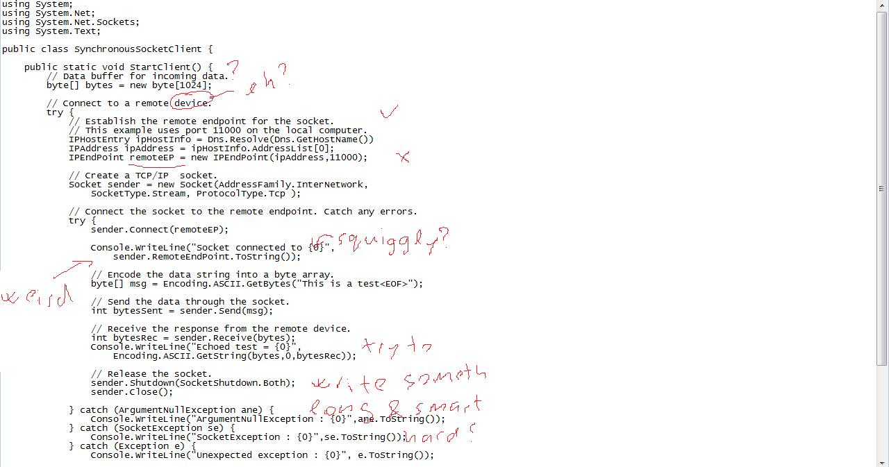 notepad/paint code review screenshot