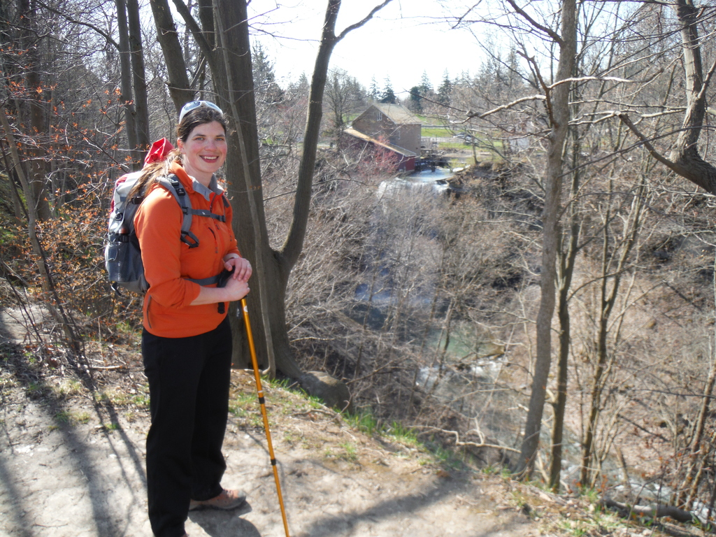 how to get onto bruce trail from brock